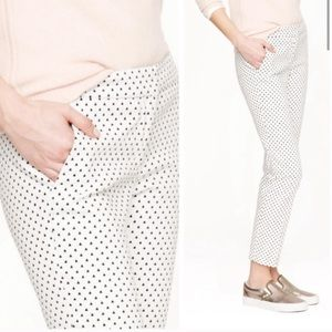 JCrew Campbell triangle cropped pants